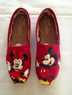 Hey, I found this really awesome Etsy listing at http://www.etsy.com/listing/130494392/custom-painted-mickey-minnie-toms-shoes