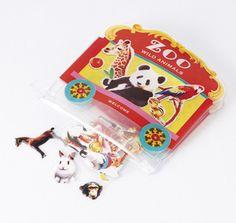 Animal Flake Sticker • Zoo Wild Animal Mark's Sticker
