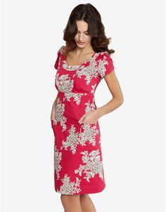 Joules MACEE Womens Dress, Pnkbouq. One of our favourite dresses returns this season. In an easy to wear style and a super flattering and forgiving shape, this is a dress you can wear all Summer long whatever your style.