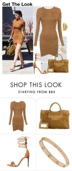 """""""Get The Look: Kylie Jenner"""" by fashion-sense-xo ❤ liked on Polyvore featuring Balenciaga, Alexandre Birman and Rolex"""