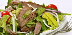 Salade de bifteck à l'asiatique sur Wikibouffe