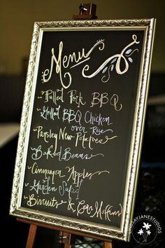 Dream menu!