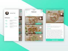 Pizza app  by Alex  Mikheev