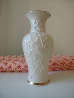 Vintage Lenox Vases | Vintage Lenox Embossed Flower Bud Vase