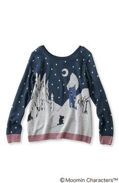 ムーミン谷に冬がきた!- moomin sweater