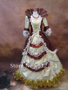 Actual Images  Hot sale 17 18th century Marie Antoinette Baroque Rococo A Line Prom Celebrity Evening Dresses