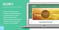 Glory - The WordPress Theme for Churches - Churches Nonprofit