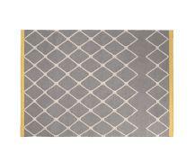 Taza flatweave rug 160 x 230cm, Ochre