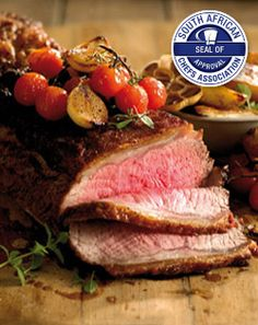 Checkers - Whole Sirloin Steak.  Flavourful and versatile, this cut always makes an impression at a dinner party. Roast as a whole, then slice into beautiful individual portions. This steak is perfect for a braai, so next time simply pop the entire steak on a hot griddle and enjoy.