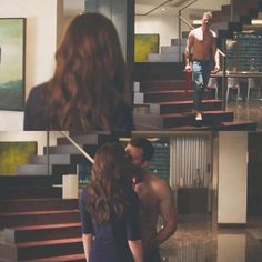 New scene // #FiftyShadesFreed #DakotaJohnson #JamieDornan