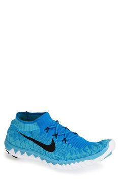 Nike 'Free Flyknit 3.0' Running Shoe (Men) available at #Nordstrom