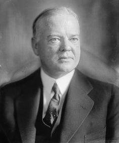 Herbert Hoover 31st President of the United States.