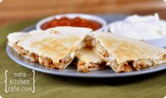 BBQ Turkey Quesadillas  Perfect for after thanks giving meals