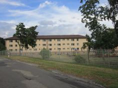 GERMANY - Benjamin Franklin Village near Mannheim/Kaafertal.  This apartment building is like ours.