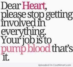 memo to heart