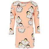 Mini Rodini Peach Pierrot Print Dress