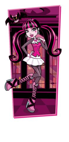 Draculaura® profile from Monster High site