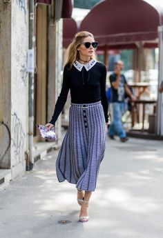 Olivia Palermo has been spotted recently on multiple occasions wearing a simple black string choker.
