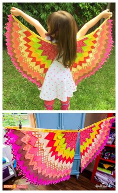 Fly to the moon with these seriously cute owl wings by @tmemme28! Easily customizable for boys & girls! Catch #homeandfamily weekdays at 10/9c on Hallmark Channel!