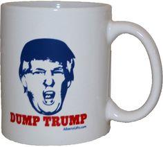 Dump Trump Mug Democrats And Republicans, Mugs, Gifts, Presents, Tumbler, Mug, Gifs, Gift