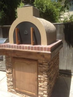 The Grgich Family Wood Fired Brick Pizza Oven in California by BrickWood Ovens.  BrickWoodOvens.com