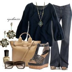 love the navy tones :)