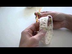 ▶ Hur du virkar en mysig mössa ;-) how to chrochet a beautiful easy beanie hat - YouTube