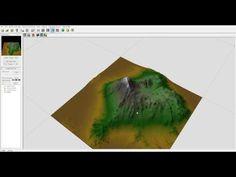 World Machine tutorial, Snow Mountain part one, World Machine and Vue workflow - YouTube