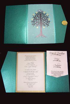 Midsummer Wedding Invitation 2