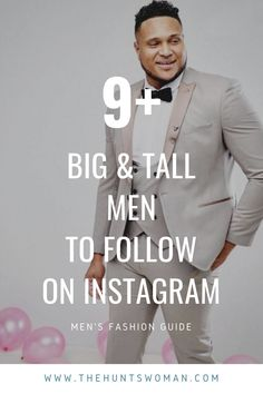 Here are some great guys to follow on social media who blog about plus size fashion or work as big and tall models! Big And Tall Style, Big & Tall, Plus Size Men, Instagram Queen, Plus Size Fashion Blog, Modern Gentleman, Body Confidence, Mens Style Guide, Tall Guys