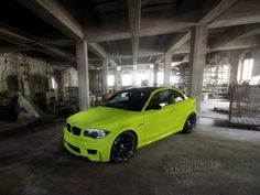 BMW 1 Series M Coupe in the Green | Super car