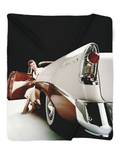 Brighten up any room, bed, couch or car seat with this soft fleece photo blanket ! Your favorite GM vehicle printed on a soft fleece blanket makes a valued keepsake and great gift for Anniversaries, B