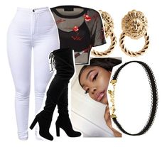 """""""C O M O E H"""" by arleenax on Polyvore featuring Vanessa Mooney and Melody Ehsani"""