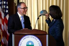 "New Environmental Protection Agency administrator Scott Pruitt addressed EPA staff and the media Tuesday and in a speech lasting less than 15 minutes, he spoke mostly about protecting jobs, industry and ""the marketplace"" and oh yeah, the environment, too."