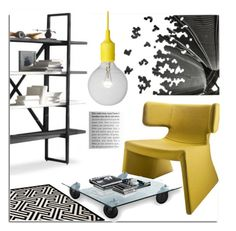 """Modern Home Decor"" by lovethesign-eu ❤ liked on Polyvore featuring interior, interiors, interior design, hogar, home decor, interior decorating, Linfa Design, FontanaArte, modern y Home"