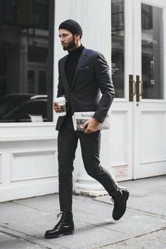 all black outfit for men.. #mens #fashion #style