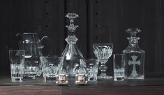 """CHROME HEARTS クロムハーツ 「CHROME HEARTS TOKYO」1階にて展示 """"Baccarat for Chrome Hearts Crystal Collection"""""""