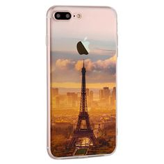 Ultra Slim Soft Translucent Landscape Scenery Painting Silicon Case Back Cover For iPhone 7 Plus Sale - Banggood.com