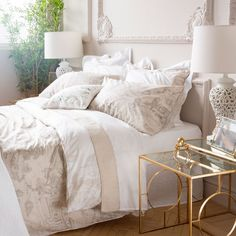 BEDDING WITH A FRENCH COUNTRYSIDE PRINT - Bedding - Bedroom | Zara Home United States of America