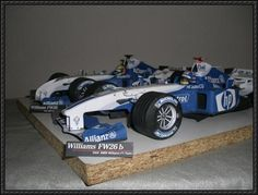 F1 Paper Models - Williams FW26B Free Download