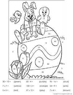 Funny Easter Bunny coloring page for kids, holidays coloring pages ...