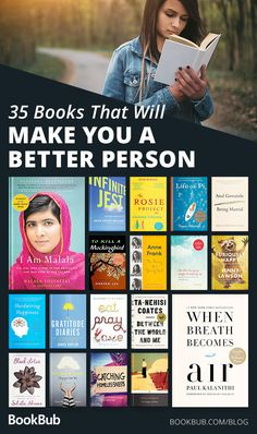 Books That Will Make You a Better Person These 35 books will make you a better person.These 35 books will make you a better person. Books You Should Read, Best Books To Read, I Love Books, Good Books, My Books, Teen Books, Books To Read In Your 20s, Books By Black Authors, Dark Books