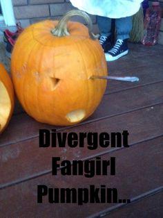 My pumpkin for Halloween!