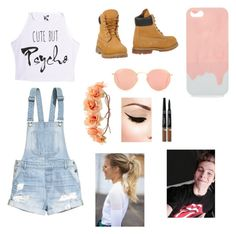 """""""Date with Luke Hemmimgs"""" by fabiola-maria on Polyvore featuring moda, H&M, Timberland, Charlotte Russe y Ray-Ban"""