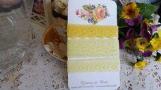 Kit de rendas Amarelas