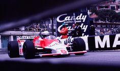 #8 Alain Prost...Marlboro Team McLaren...McLaren M29...Motor Ford Cosworth DFV V8 3.0...GP Monaco 1980