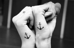 Anker tattoo.