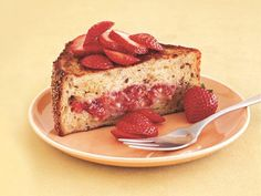 Farmers' Market Recipe Finder: Strawberries: Strawberry-Banana Stuffed French Toast http://www.prevention.com/food/healthy-recipes/farmers-market-recipe-finder-strawberries?s=20&cm_mmc=Recipe-of-the-Day-_-1722434-_-06032014-_-strawberry-chicken-salad-Image
