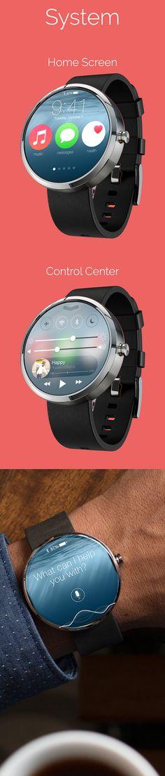 iWatch Concept by Hari Ramachandran, via Behance
