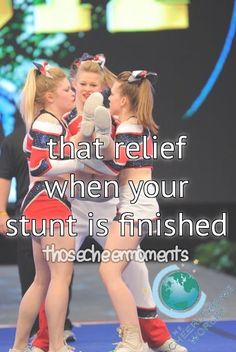 cheer stunt | Tumblr
